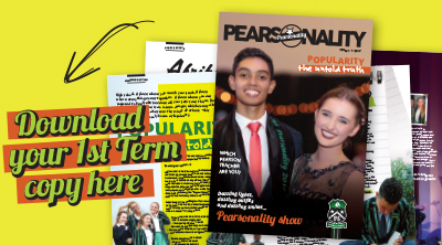 Pearsonality - Issue 1